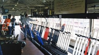 British Rail Vignettes #11 Stockport Station, Carriage Sidings And Box No 2 Interior 24 May 2000