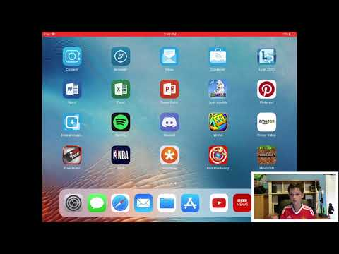 How to record an iPad with a Facecam!!
