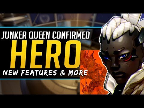 Overwatch Junker Queen Confirmed! New Features, Guilds and more!