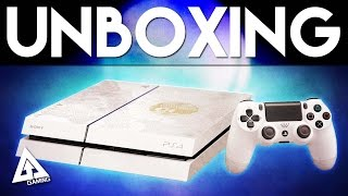 Destiny Limited Edition PS4 Console Unboxing | Destiny The Taken King