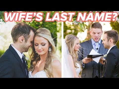 Why I Took My Wife's Last Name