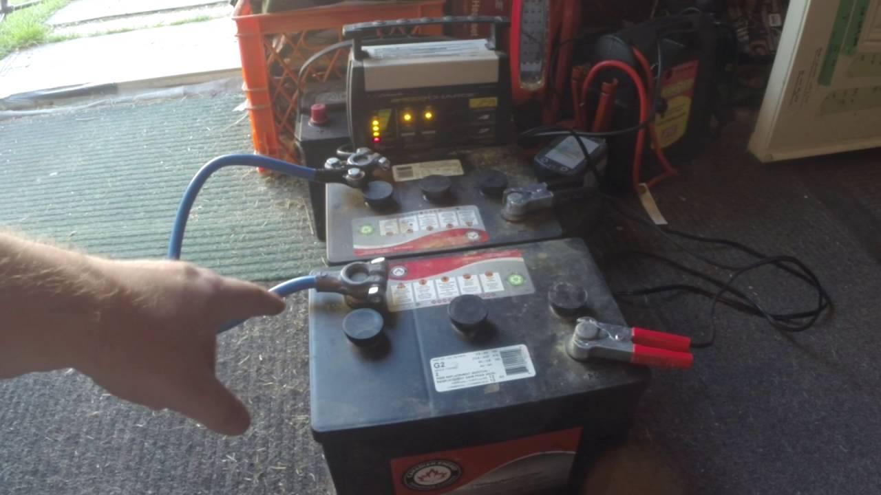 Wiring 4 6 Volt Batteries In Series