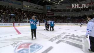 KHL All Star: Большая эстафета / Fastest skater team relay