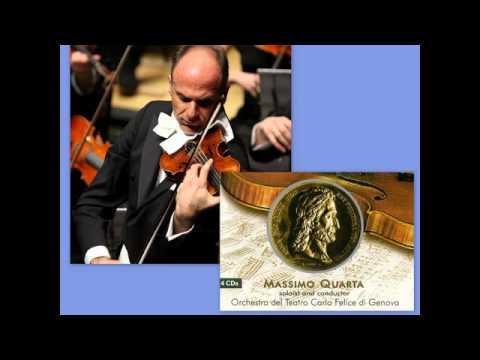 Niccolo Paganini: Violin Concerto No. 4 in D minor, M.S. 60, Massimo Quarta