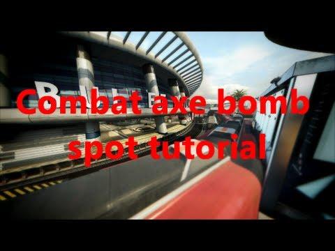 Black Ops 2 Express Combat Axe Bomb Spot Tutorial