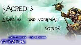 Sacred 3 - [Co-Op] - #02 Vorios - Gameplay - Deutsch
