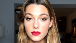 Mathilde Oliver's Chanel Beauty French Kiss Look With Makeup Artist Tatiana Donaldson   Beauty Break