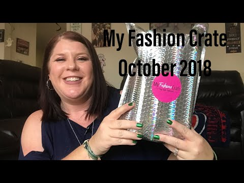 MY FASHION CRATE// OCTOBER 2018// PLUS SIZE CLOTHES AND ACCESSORIES SUBSCRIPTION BOX