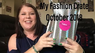 MY FASHION CRATE// OCTOBER 2018// PLUS SIZE CLOTHES AND ACCESSORIES SU