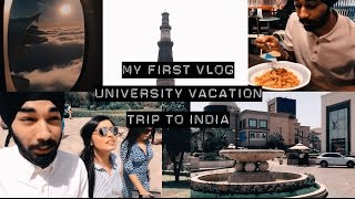 my first trip to india