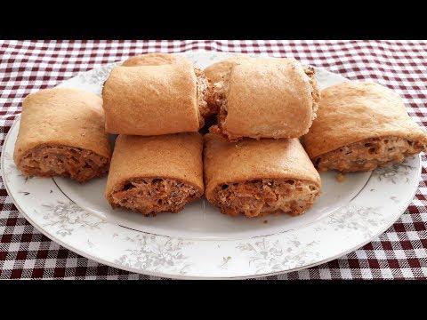 bayatlamayan fındıklı rulo kurabiye tarifi fındıklı nokul tarifi  kurabiye tarifleri