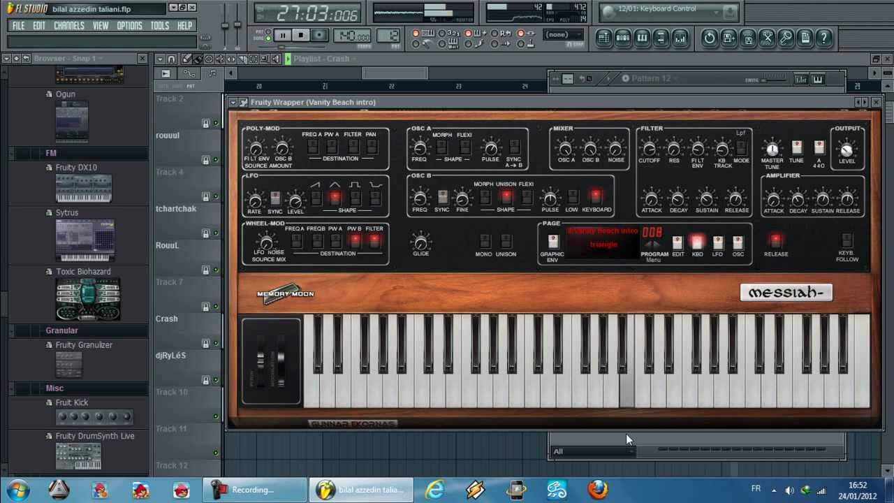 fl studio 12 rai clavier pc 2012