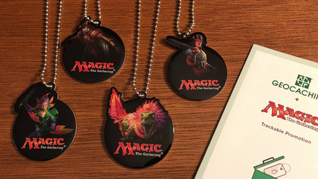 New #Geocaching Trackable Promotion: Magic: The Gathering Rivals of IXALAN  #MTGRIX