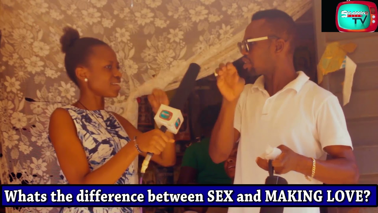 Difference between love and sex