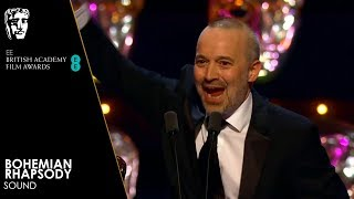 Bohemian Rhapsody Wins Sound | EE BAFTA Film Awards 2019