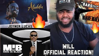 Joyner Lucas - Will (ADHD) (OFFICIAL REACTION!) *BIG RESPECT TO WILL SMITH!*| YBC ENT.