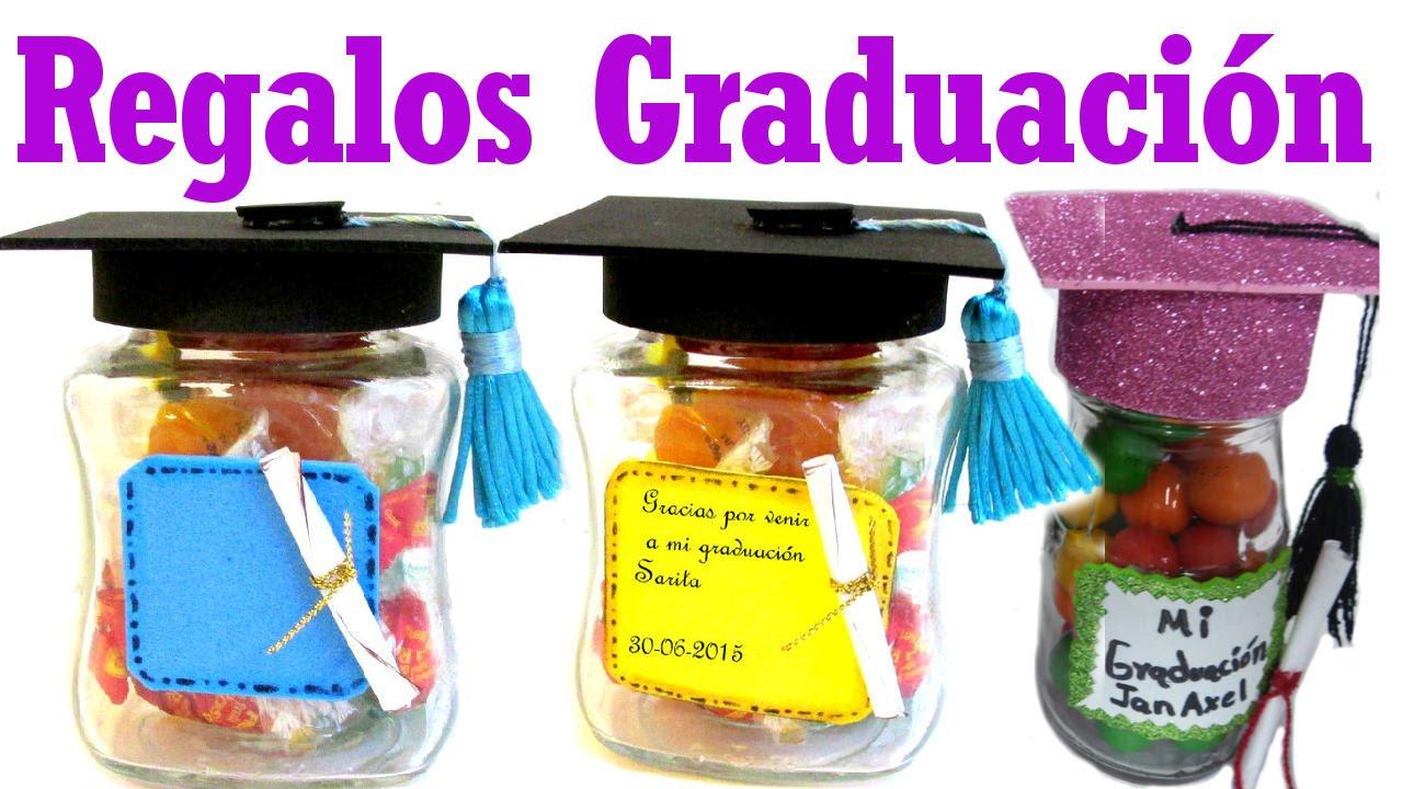 Regalos o recuerdos para graduaciones manualidades de for Decoraciones de botes de plastico