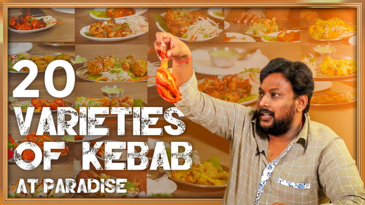 20 Kebabs at Hyderabad Paradise