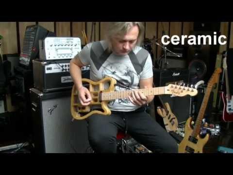 Alnico Vs <b>Ceramic</b> pickups - YouTube