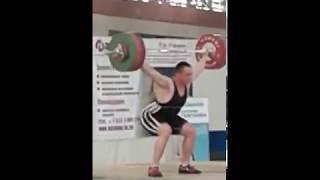 Игорь Шаклеин рывок 150 кг, в.к. до 105 кг