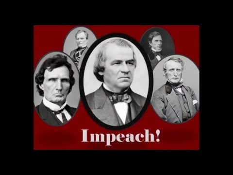 Impeached! The Rise and Fall of Andrew Johnson (Lecture)
