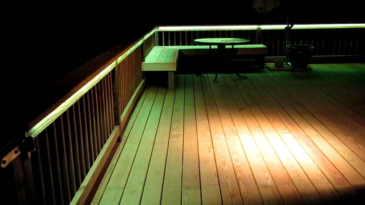 Led Deck Lighting Youtube