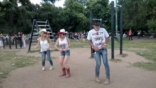 LINE DANCE IN PALOOZA PARK
