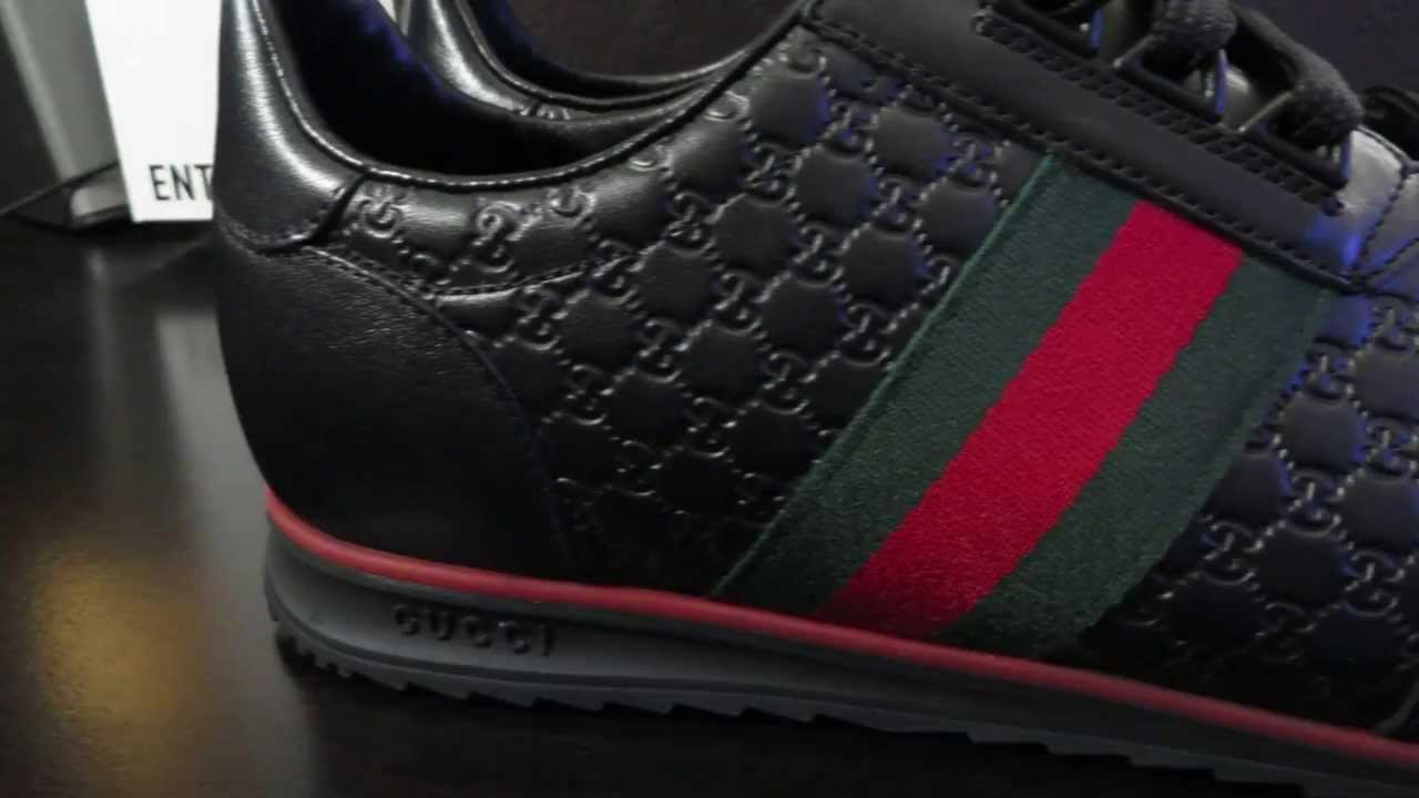 e4ac76679 Gucci Lace-Up Sneakers - YouTube