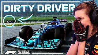 IK WORD EEN DIRTY DRIVER! (F1 2019 Online Ranked Nederlands)