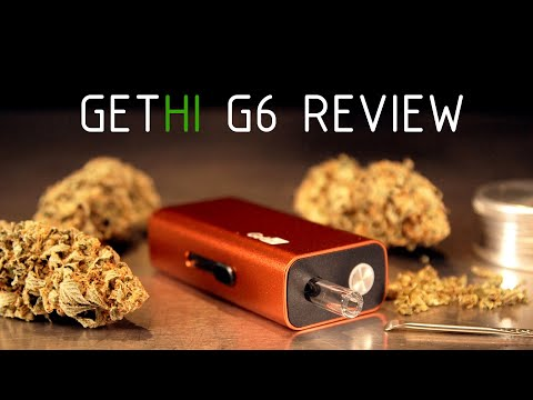 GetHi G6 Dry Herb Vaporizer Product Review
