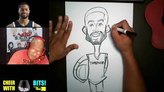 How To Draw a Full Body Caricature | Melo Trimble