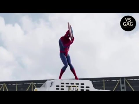 Captain America: Civil War- Spider-Man Deleted Scenes/Outtakes