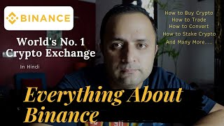 Everything about BINANCE | World's No. 1 Crypto Exchange | Cryptocurrency