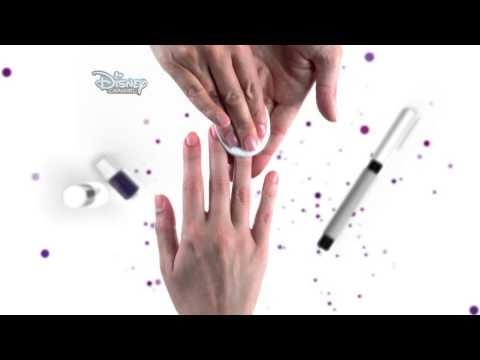 "Nail Art. Tutorial ""Violetta"""