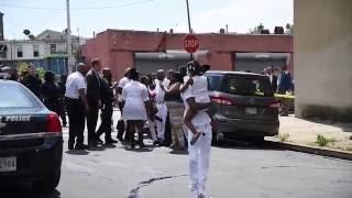 Shooting At Repast For Murder Victim