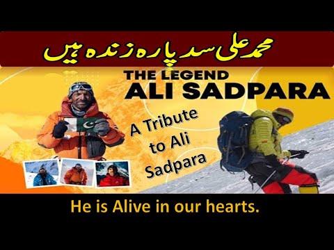 Ali Sadpara | National Hero Ali Sadpara | Tribute to Ali sadpara and his team