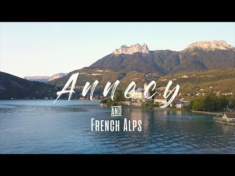 Annecy And The French Alps 4K