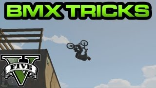 GTA 5 BMX Stunts And Tricks Thumbnail