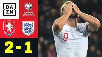 Spätes Siegtor! Tschechien beendet Englands Serie - Tschechien - England 2:1 | EM-Quali| DAZN
