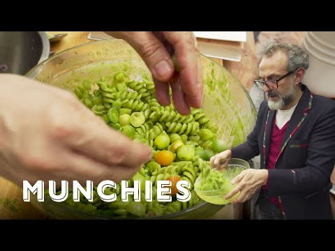 How To Make Pesto With Massimo Bottura, Chef Of The #1 Ranked Restaurant In The World