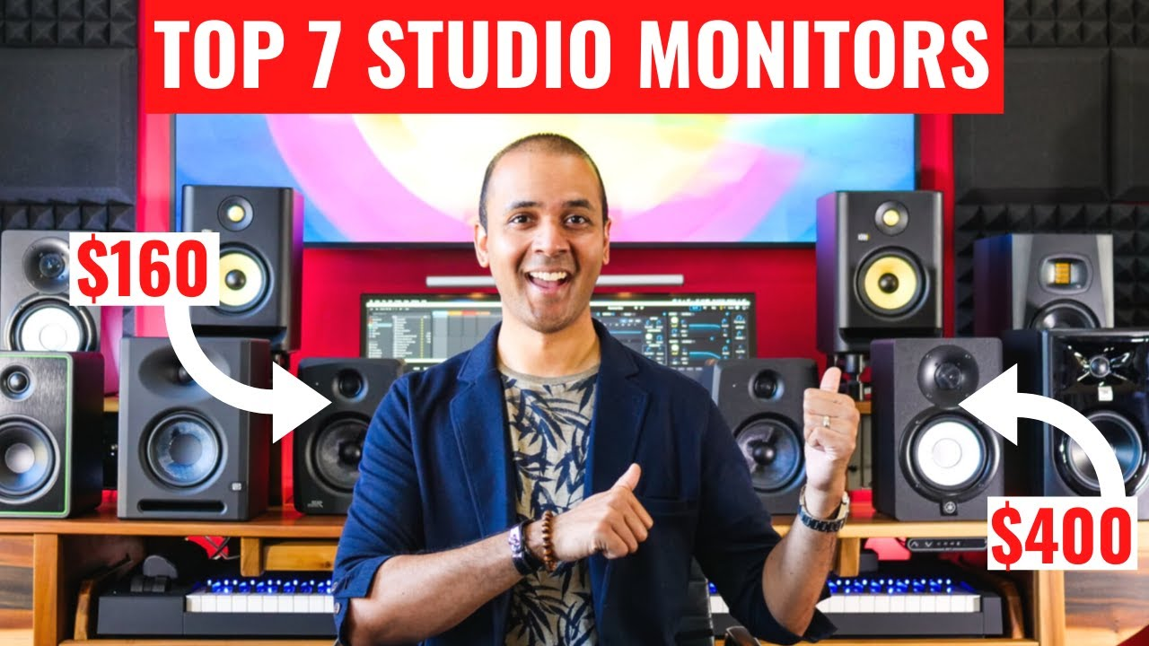 BEST STUDIO MONITORS 2020 for Mixing & Music Production at home
