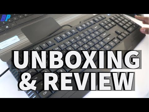 HP GK1000 Gaming Keyboard And Mouse Unboxing And Review