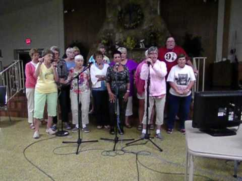 Helen & Helene Atkinson;   Who's Sorry Now, karaoke group sing!