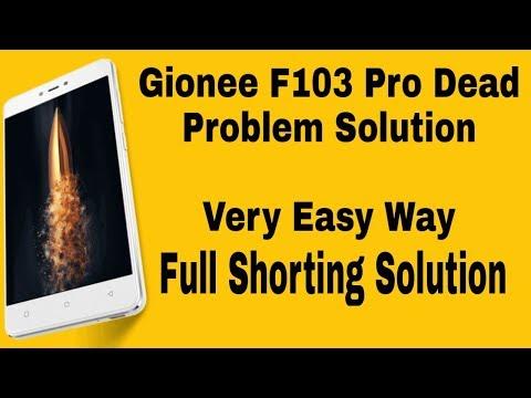 Gionee F103 pro dead solution by malti meter   Gionee F103 Pro full
