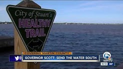 Gov. Scott directs Florida Department of Environmental Protection to curb algae blooms