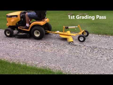 Ratchet Rake Motor Grader