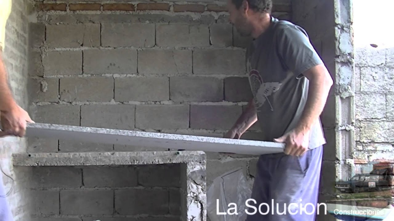Instalacion rapida de mesada de granito youtube for Como se vende el granito