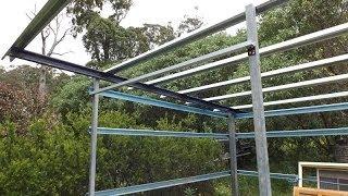 Diy Shed Build - Part Three