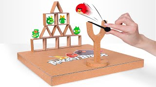 DIY Angry Birds Game From Cardboard