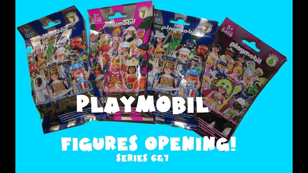 playmobil figures opening playmobil series 6  7 opening